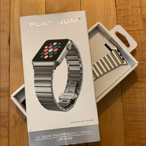 Platinum Link Band for Apple Watch